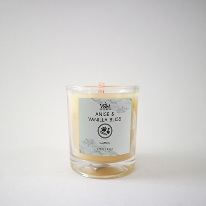 Picture of 100% Pure Beeswax Candle - Anise and Vanilla Bliss