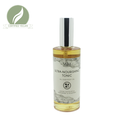 Picture of Ultra Nourishing Tonic All-Over Body Oil in Lemon, Eucalyptus, Peppermint and Rosemary
