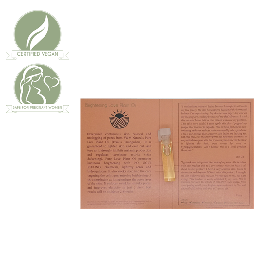 Picture of Brightening Love Plant Oil (Japan)  1ml